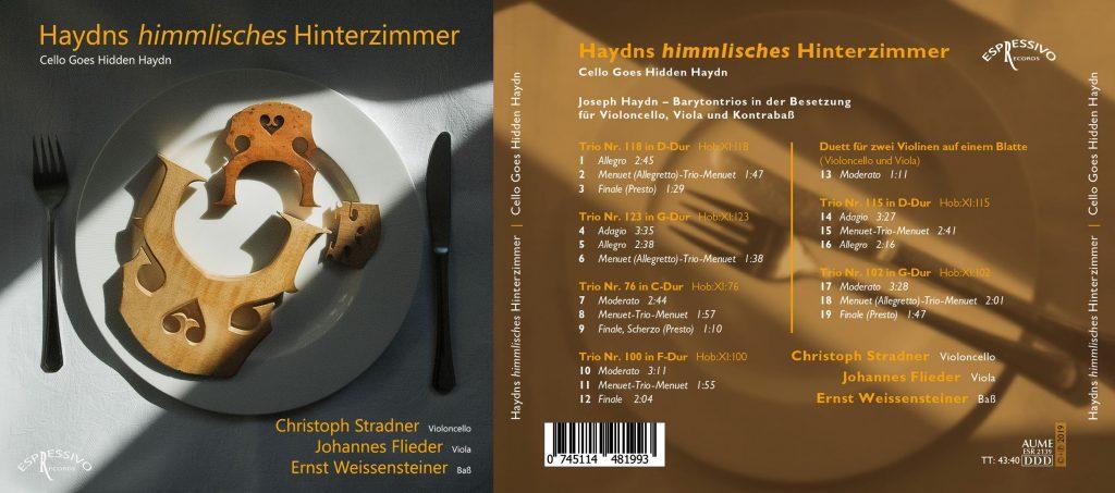 CD Cover Haydns himmlisches Hinterzimmer
